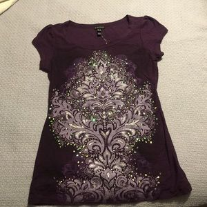 F.A.N.G. Purple T-shirt NWT